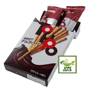 Lotte Toppo Chocolate (36 grams) 2 individually wrapped packages per box