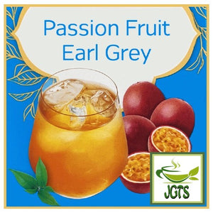Meito Cafesta Passion Fruit Earl Gray 7 Sticks (42 grams) Elegant earl grey with passion fruit