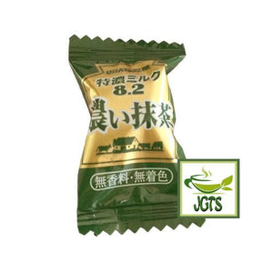 Mikakuto Tokuno Milk 8.2 Strong Matcha (75 grams) Individually wrapped matcha candy