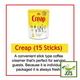Morinaga Creap Creamy Powder Coffee Creamer 15 Sticks (45 grams) Easy Carry Stick Type
