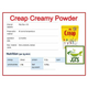 Morinaga Creap Creamy Powder Coffee Creamer 15 Sticks (45 grams) Ingredients and manufacturer information