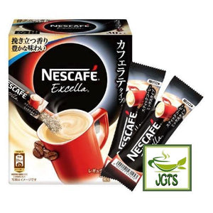 Nescafe Excella Cafe Latte Instant Coffee 30 Sticks (198 grams) Economy Size Box of 30 sticks
