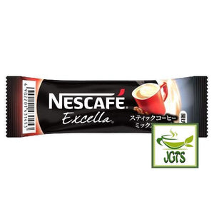 Nescafe Excella Cafe Latte Instant Coffee 30 Sticks (198 grams) Individually wrapped stick type
