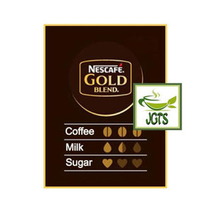 Nescafe Gold Blend Adult Reward Cappuccino 7 sticks (88.2 grams) Flavor chart English