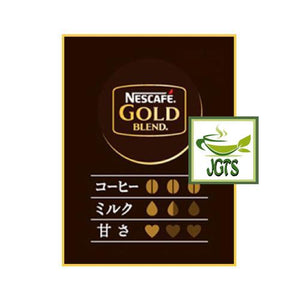 Nescafe Gold Blend Adult Reward Cappuccino 7 sticks (88.2 grams) Flavor chart Japanese