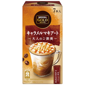 Nescafe Gold Blend Adult Reward Caramel Macchiato 7 Sticks (95.9 grams)
