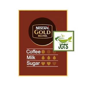 Nescafe Gold Blend Adult Reward Caramel Macchiato 7 Sticks (95.9 grams) Flavor chart English