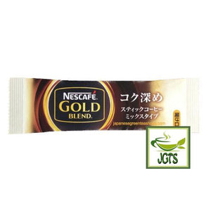 "Nescafé Gold Blend Cafe Latte ""Rich Deep"" Instant Coffee Sticks 10 Sticks (79 grams) One Stick"
