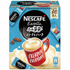 Nescafé Excella Fuwa Cafe Latte Half & Half Instant Coffee 30 Sticks (135 grams)