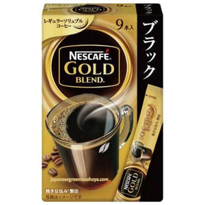 "Nescafé Gold Blend ""Black"" Instant Coffee 9 Sticks (18 grams)"