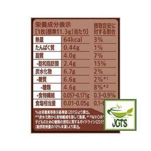 "Nestle KITKAT Mini ""OTONA-NO-AMASA"" Hojicha 12 pack (135.6 grams) Nutrition Information"