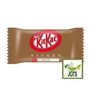 "Nestle KITKAT Mini ""OTONA-NO-AMASA"" Hojicha 12 pack (135.6 grams) One Bar wrapped"