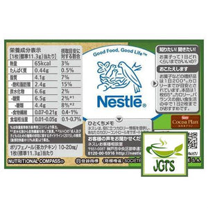 "Nestle KITKAT Mini ""OTONA-NO-AMASA"" Matcha Green Tea 13 pack (160 grams) Nutrition Information"