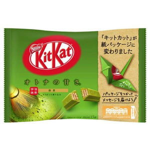 "Nestle KITKAT Mini ""OTONA-NO-AMASA"" Matcha Green Tea 13 pack (160 grams)"