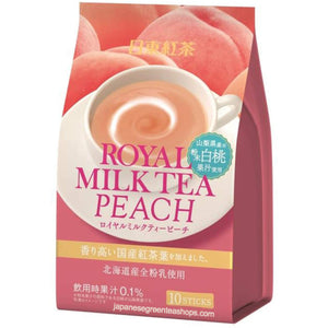Nitto Black Tea Royal Milk Tea Peach 10 Sticks (140 grams)