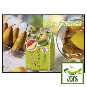 Nittoh La France Tea 10 Sticks (95 grams) La France pear poured in glass