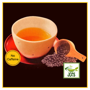 OSK Black Soy Bean Tea Bags (64 grams) Brewed hot in tea cup