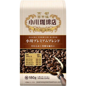 Ogawa Coffee Shop Premium Ground Coffee (180 grams)
