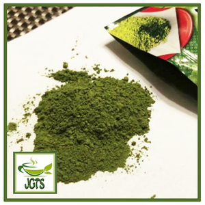 Powder Uji Matcha (80 grams) Pour From Package