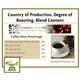 Premium Blend Beans Coffee Bean Origin Roasting Degree Blend Content