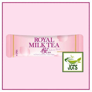 Royal Milk Tea Sakura Flavor 10 sticks (140 grams) Individually wrapped packages