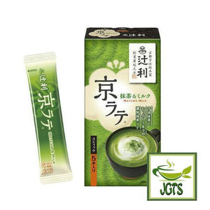 Tsuji Kita Kyo Latte (Matcha & Milk) with Stick