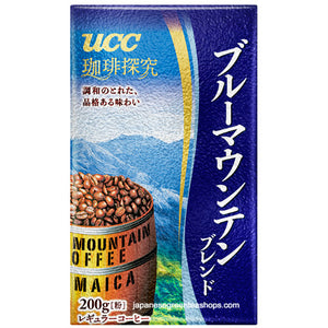 (UCC) Coffee Exploration Blue Mountain Blend Ground Coffee (200 grams)