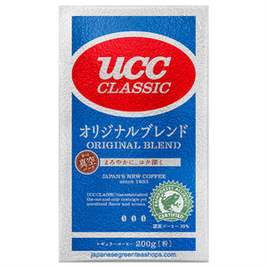 (UCC) Classic Original Blend Ground Coffee (200 grams)