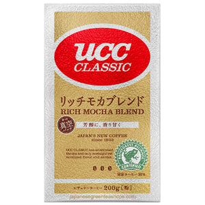 (UCC) Classic Rich Mocha Blend Ground Coffee (200 grams)