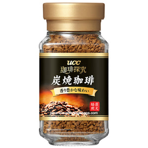 (UCC) Coffee Exploration Sumiyaki (Charcoal Roasted) Blend Instant Coffee (45 grams, Jar)
