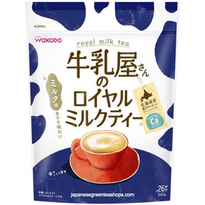 (Wakodo) Milk Shops Instant Royal Milk Tea (340 grams)