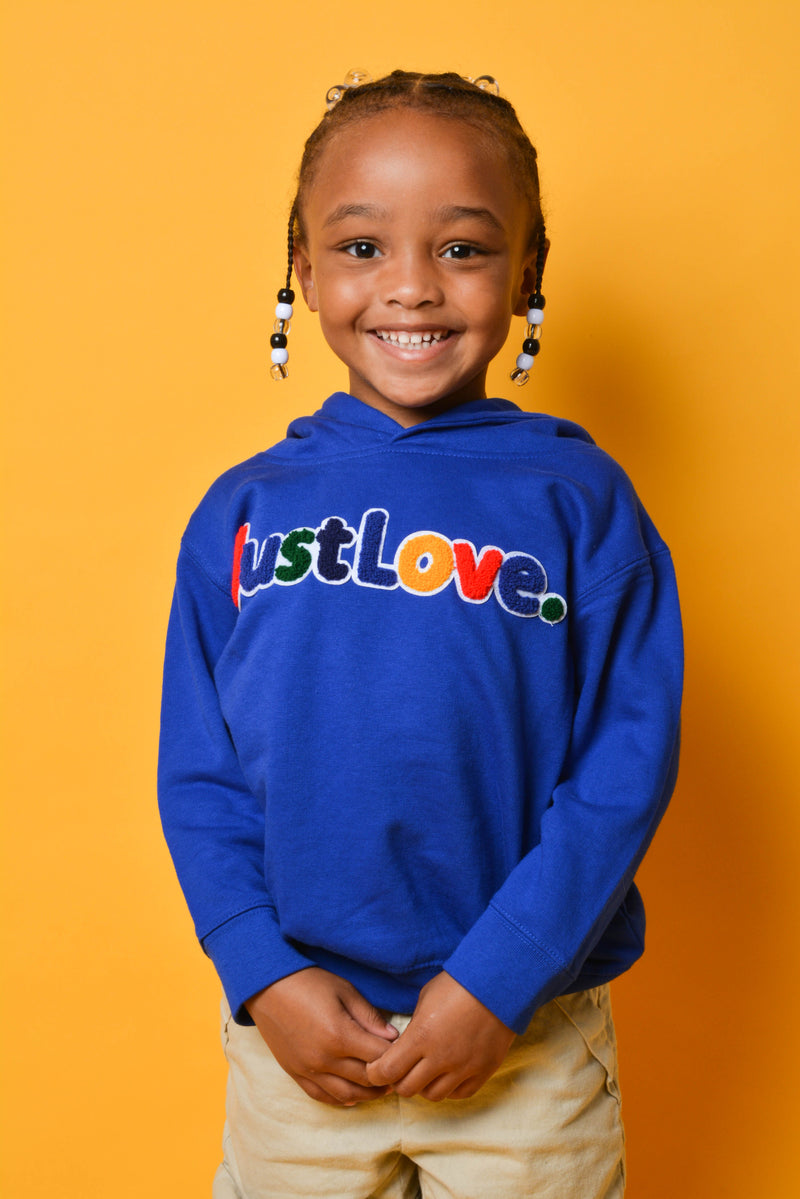 Toddler Fleece Pocket Pullover Hooded Sweatshirt