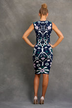 Erika Floral Jacquard Dress