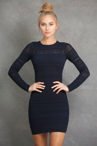 Chloe Long Sleeve Mini Dress