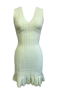 Valentina Dress in White Jade