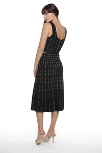 Patsy Dress Set in Black - VIAVAI FASHION