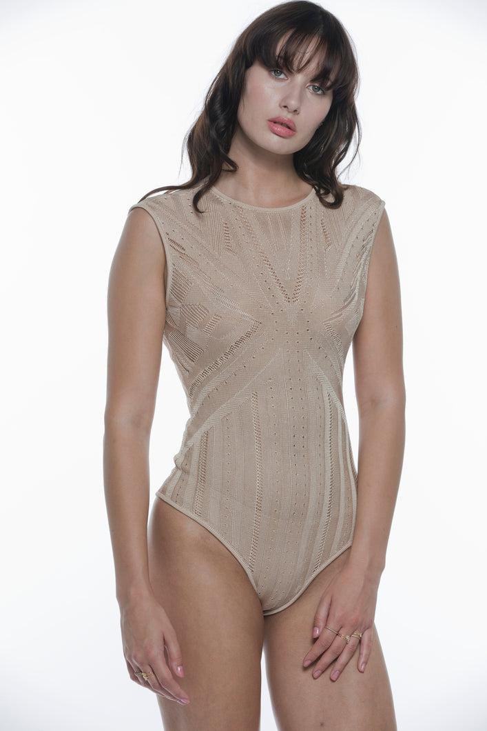 Brandy Pointelle bodysuit