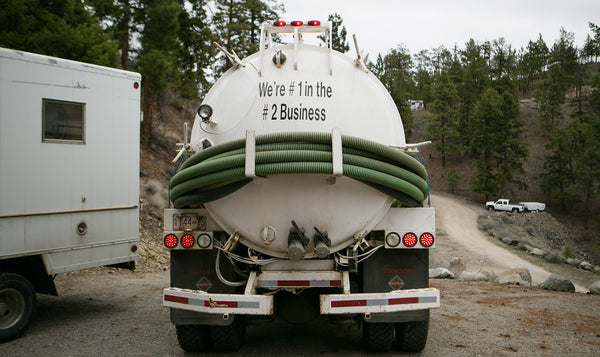 Dick's septic truck.... #1 in the #2 business