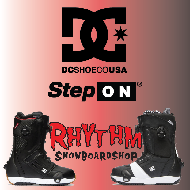 Dc x Burton Step On Boots are here!