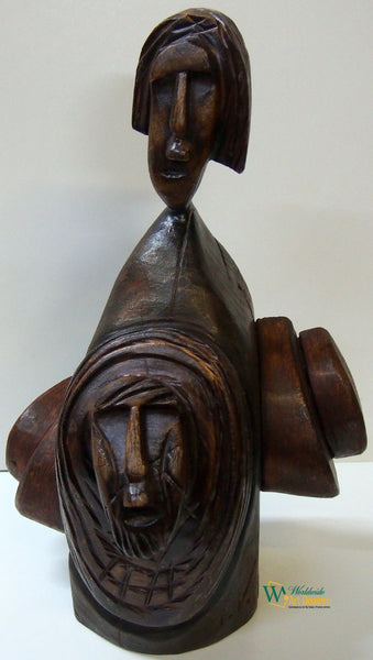 Gorgeous wood sculptures attract collectors of African Art