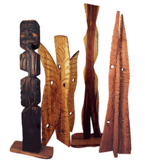 Large scale hardwood sculptures by Nicholas A. Price