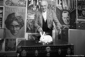 THE MAGICAL RABBIT by Nicholas A. Price, 11 x 14 RC Glossy AGFA Paper Print - Artnet Showcase