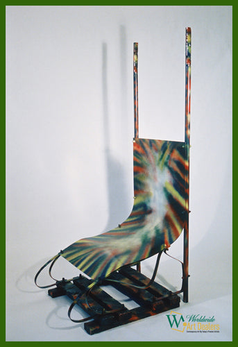 The Queen Chair © by New Voyeurism Custom Art Furniture available from WorldwideArtDealers.com