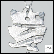 Load image into Gallery viewer, 264 Jewelry #2, luxury one of a kind aluminum necklace and art