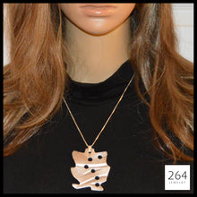 264 Jewelry #2, luxury one of a kind aluminum necklace and art