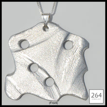 Load image into Gallery viewer, 264 Jewelry #3, luxury one of a kind aluminum necklace and art