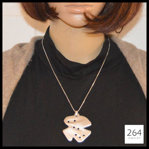 264 Jewelry #4, luxury one of a kind aluminum necklace and art