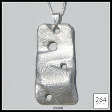 Load image into Gallery viewer, 264 Jewelry #6, luxury one of a kind aluminum necklace and art, statement piece