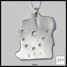 Load image into Gallery viewer, Luxury brand 264 Jewelry #7, one of a kind aluminum statement piece