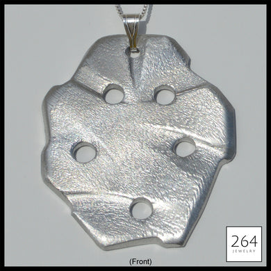 Luxury brand 264 Jewelry #9, one of a kind aluminum statement piece